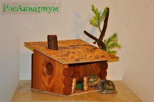 Купить домик для черепахи